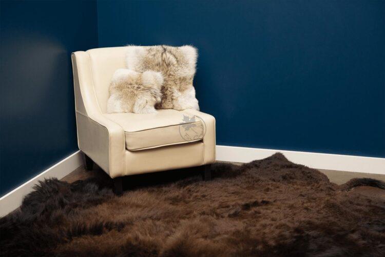 Buffalo Robe Floor Carpet