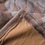 Mink Silver-Blue Sapphire Blanket - Cashmere Lining