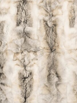 Arctic Wolf Fur Carpet