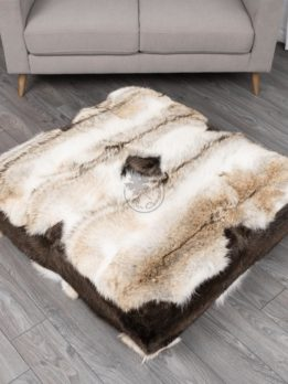 Coyote Floor Ottoman - Side A