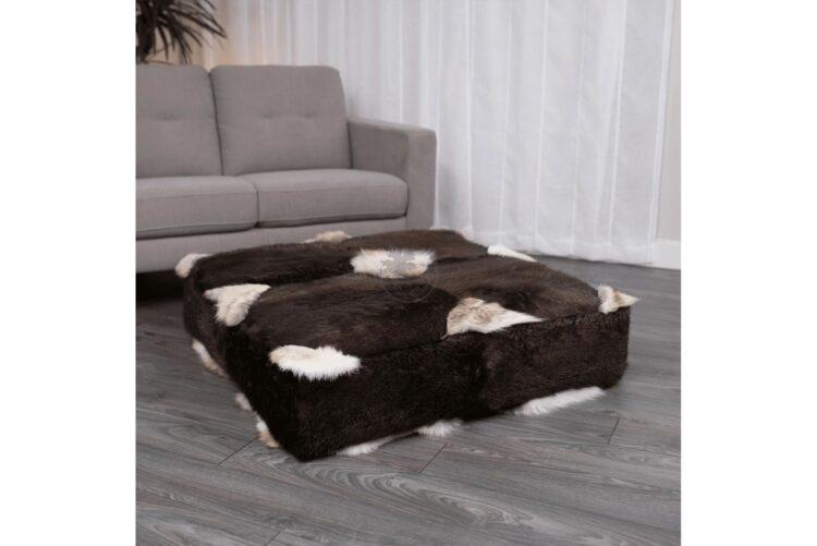 Coyote Floor Ottoman - Side B