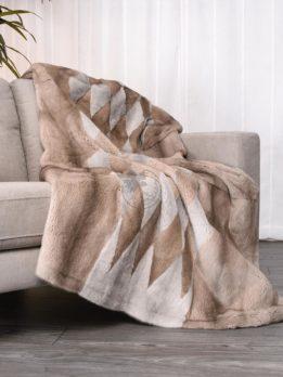 Mink Silver-Blue Sapphire Blanket