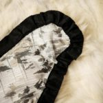Polar Bear Skin Rug - Backing