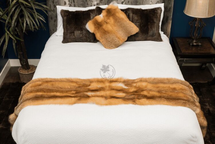 Red Fox Bed Runner - With Tail