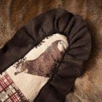 Cougar Skin Rug - Backing