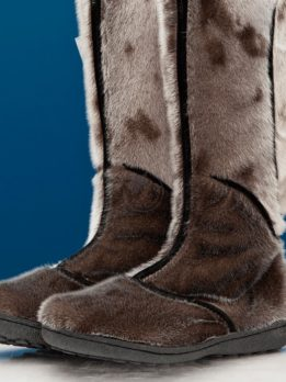 Women's Seal Skin Boots