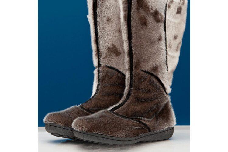Women's Seal Skin Boots