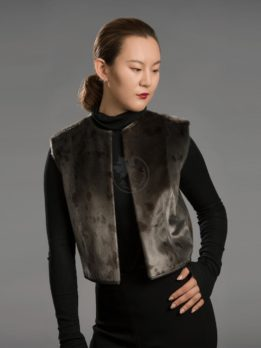 Women's Seal Skin Vest