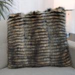 American Raccoon Pillow - Wave