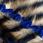 American Raccoon Blanket - Waves