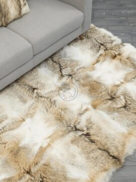 Coyote Fur Carpet