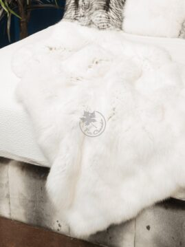 White Fox Blanket