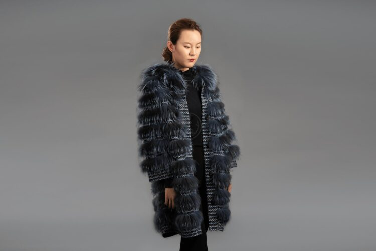 Silver Fox - Knitted Jacket