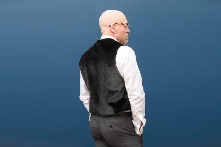 Men's Seal Skin Vest - Black