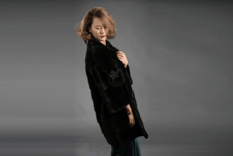 Mink - Black Velvet Jacket