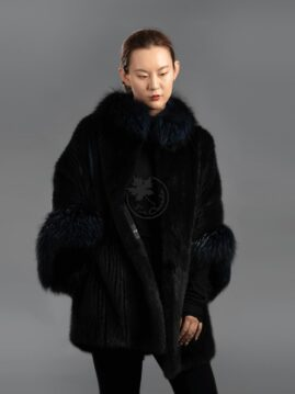 Mink Cape & Fox Jacket