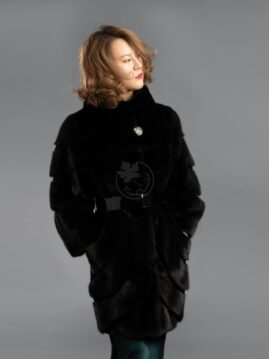 Mink - Cashmere & Long Hair Jacket