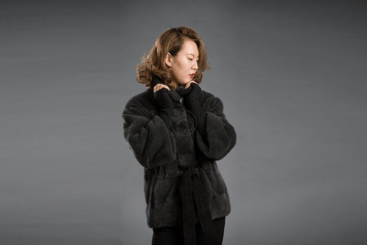 Mink - Grey Jacket