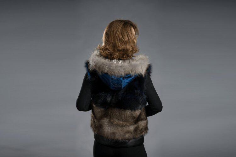 Raccoon Vest With Hood