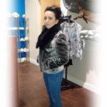 Seal Black Mink Collar Jacket