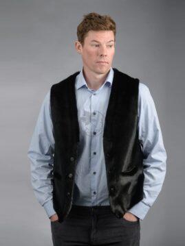 Men's Seal Skin Vest 211 A