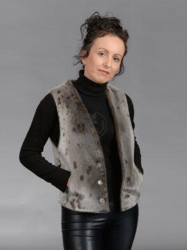 Women's Seal Skin Vest 101A