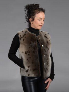 Women's Seal Skin Vest 102B