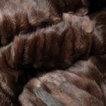 Mink Paws Fur Blanket